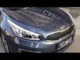 Оклейка защитной пленкой Never Scratch автомобиля Kia Ceed
