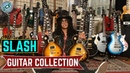 Guns N' Roses lead guitarist Slash guitar collection 2018