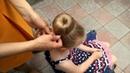 Быстрая, красивая и элегантная прическа с помощью бублика/пончика/губки
