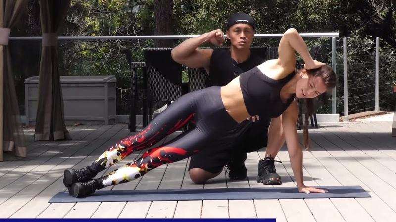Интенсивная тренировка пресса и корсетных мышц без снаряжения. Intense Abs Workout - No Equipment Extreme Abs Challenge - Core Workout