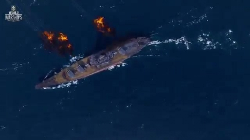 V Yamato Армада World of Warships mp4