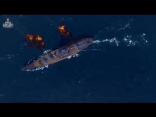 [v-s.mobi]Линкор Yamato. Армада [World of Warships].mp4