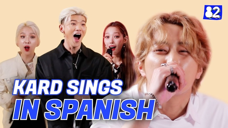KARD sings Bomb Bomb in Spanish | Try-lingual Live