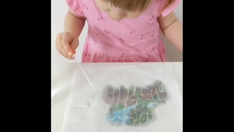 водные краски