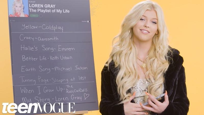 Loren Gray Creates the Playlist to Her Life Teen Vogue
