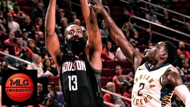 Houston Rockets vs Indiana Pacers Full Game Highlights 11 11 2018 NBA Season