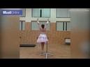 Танец балерины с очень неожиданным поворотом