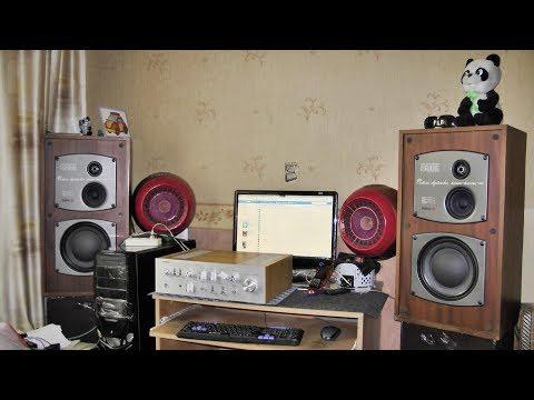 Корвет 35ас-028 и Yamaha CA-1000II