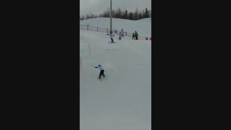 День снега в Кировске Витя супер