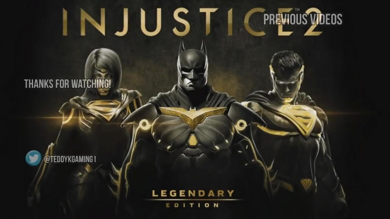 Characters and Voice Actors - Injustice 2 Legendary Edition