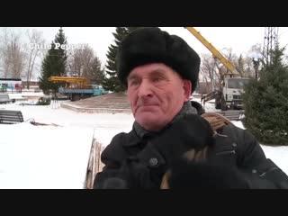 Ёлочка мне, бл дь, нравится! - Новый год с нетерпением ждет пенсионер из Бийска (РФ)