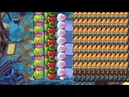 Plants vs Zombies 2 Homing Thistle and Hypno Shroom vs all Zombies