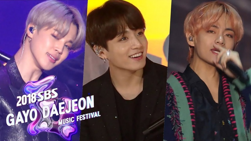 BTS - No More Dream Boy in Luv Dope Fire DNA Idol [2018 SBS Gayo Daejeon Music Festival]