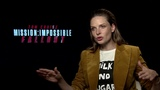 Rebecca Ferguson Interview On Mission Impossible