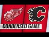 Detroit Red Wings vs Calgary Flames Jan.18, 2019