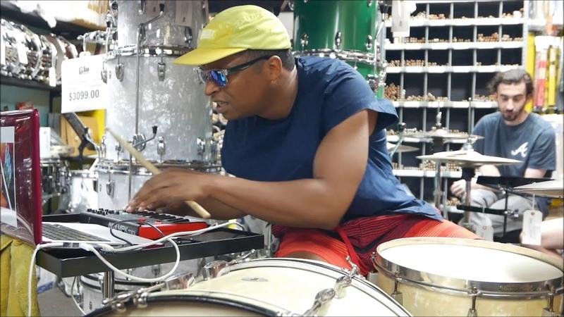 Deantoni Parks - Technoself streaming 1 @ ATL Drum Collective, Atlanta - Sat Aug112018