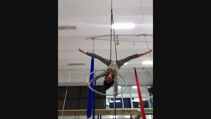 Найди свой спорт! Воздушная акробатика
