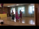 Индийские танцы - педагог Ковшова Елизавета, студия движения Шаги, Казань