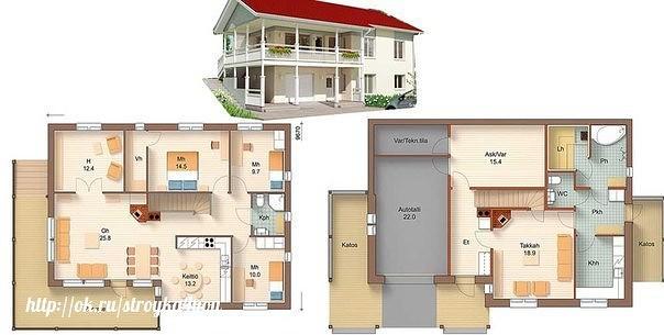 Советы по планировке загородного дома