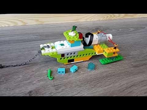 Детский центр робототехники Умник собираем мусор в океане