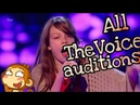 Courtney Hadwin - All The Voice auditions