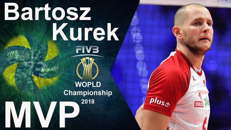 Bartosz Kurek best volleyball players. MVP World Championship 2018.