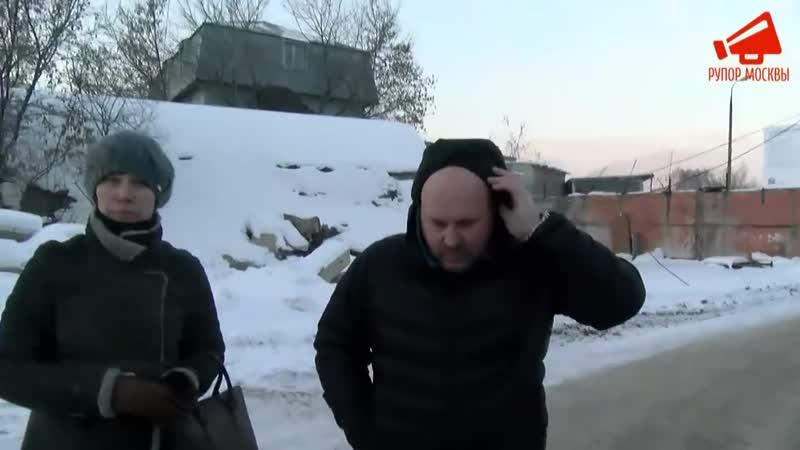 Как ПИК прокладывал дорогу через Люберцы-Инвест. Сторож госпитализирован / LIVE 24.01.19