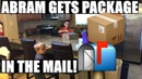 Abram Gets A Package In The Mail Youtube Family Vlogs