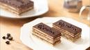 Торт Опера с бисквитом Джоконда, кофейно- сливочным кремом, шоколадным ганашем и глазурью / オペラの作り方 Opera Cake|HidaMari Cooking