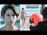 Boy On Beach -