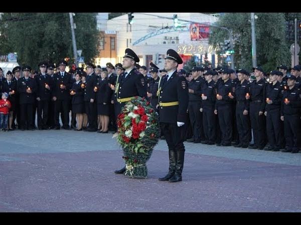 Полицейские Владимира присоединились к всероссийской акции Завтра была война
