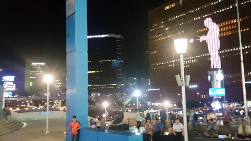 Сеул привокзальная площадь mp4