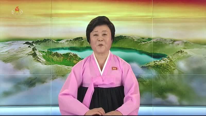 우리 당과 국가, 군대의 최고령도자 김정은동지께서 최고인민회의 대의원선거에 참가하시였다