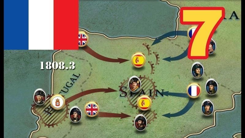 Peninsular war. Кампания Франции - 7. European war 6