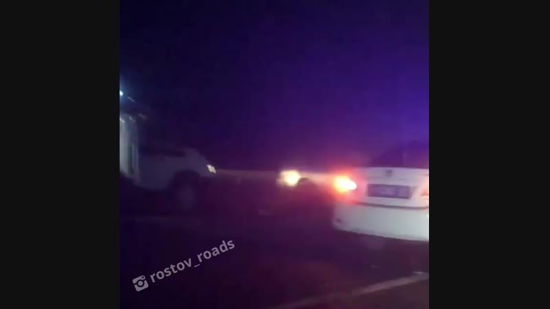 Крупное ДТП в районе Лиховской с участием 5 авто - 8.11.18 - Это Ростов-на-Дону!