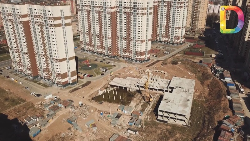 Школа в мкрн. Центральный когда возобновится строительство| Новости Долгопрудного
