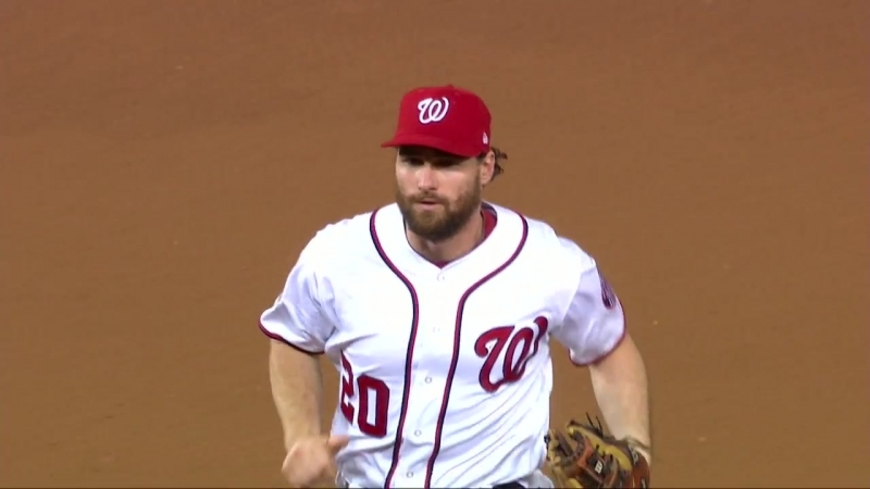 MLB 2017 1/2 NL Washington Nationals vs Chicago Cubs Game 1 Part 1