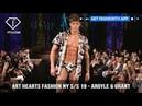 Art Hearts Fashion NY S S 19 Argyle Grant FashionTV FTV