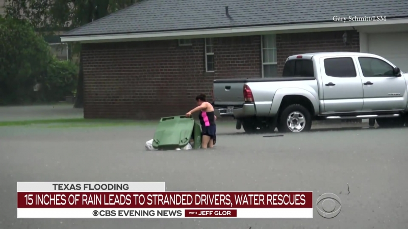 Southeast Texas hit with dangerous floods after severe drought