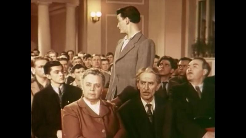 «Аттестат зрелости» (1956) - драма, реж. Татьяна Лукашевич