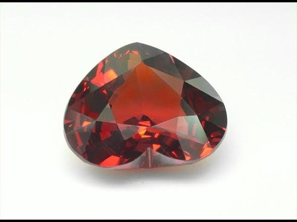 Collector's Grade Vivid Orange Extra Large 11.31 Carat Certified Spessartite Garnet Gemstone C1128