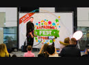 Невероятное шоу гигантских мыльных пузырей BubbleMan на Алмазные крошки FEST
