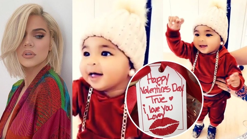 'Baby True's Valentine's Day' Khloe Kardashian has her 'mojo back' 10 months after welcoming True