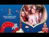FIFA Fan Fest SPb: болельщики Франции празднуют выход в финал