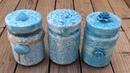 3 ideas para decorar frascos 3 ideas for decorating glass jars eng sub
