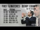 Frank Lampards first Championship game in charge of DCFC is away at Reading ️