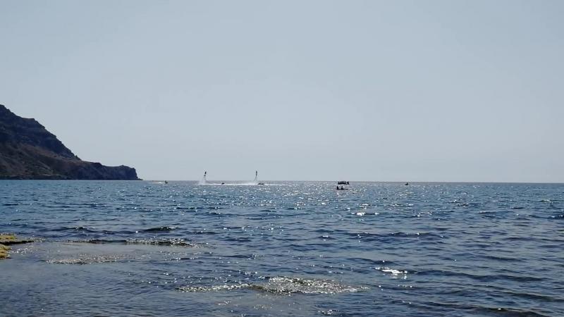 Крым, плаж Меганом, гидроциклы