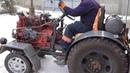 Вот это я понимаю САМОДЕЛЬНЫЙ ТРАКТОР Tractor own assembly