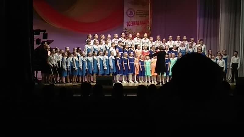 Фестиваль - конкурс вокально -хорового искусства Осенняя радуга. 2017
