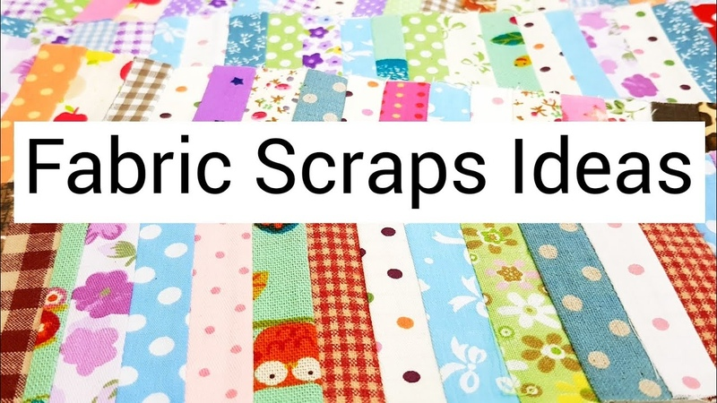 Have fabric scraps?Here's the way to use them up! |如何运用碎布?HandyMum ❤❤